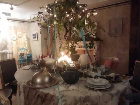 Exposicion de Navidad Decoracion de Interiores de Herencia14 560x420 - Fotogalería de la exposición de decoración Bodegones de Navidad