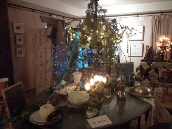 Exposicion de Navidad Decoracion de Interiores de Herencia15 560x420 - Fotogalería de la exposición de decoración Bodegones de Navidad