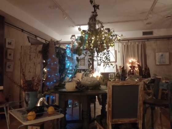 Exposicion de Navidad Decoracion de Interiores de Herencia18 560x420 - Fotogalería de la exposición de decoración Bodegones de Navidad
