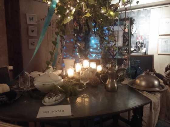 Exposicion de Navidad Decoracion de Interiores de Herencia19 560x420 - Fotogalería de la exposición de decoración Bodegones de Navidad