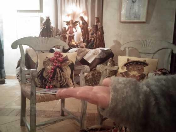 Exposicion de Navidad Decoracion de Interiores de Herencia20 560x420 - Fotogalería de la exposición de decoración Bodegones de Navidad