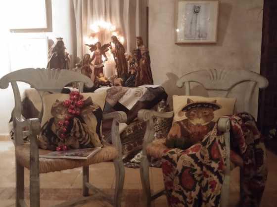 Exposicion de Navidad Decoracion de Interiores de Herencia21 560x420 - Fotogalería de la exposición de decoración Bodegones de Navidad