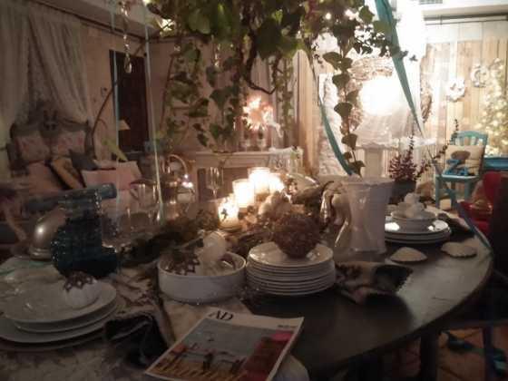 Exposicion de Navidad Decoracion de Interiores de Herencia22 560x420 - Fotogalería de la exposición de decoración Bodegones de Navidad