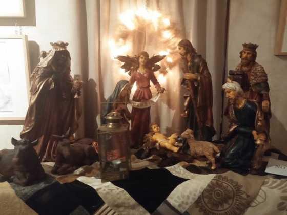 Exposicion de Navidad Decoracion de Interiores de Herencia23 560x420 - Fotogalería de la exposición de decoración Bodegones de Navidad