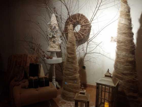 Exposicion de Navidad Decoracion de Interiores de Herencia25 560x420 - Fotogalería de la exposición de decoración Bodegones de Navidad