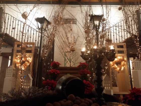 Exposicion de Navidad Decoracion de Interiores de Herencia45 560x420 - Fotogalería de la exposición de decoración Bodegones de Navidad