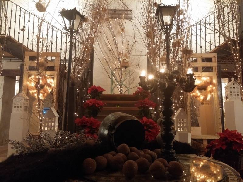 Exposicion de Navidad Decoracion de Interiores de Herencia46 - La sala de exposiciones acoge la propuesta Luz de Navidad