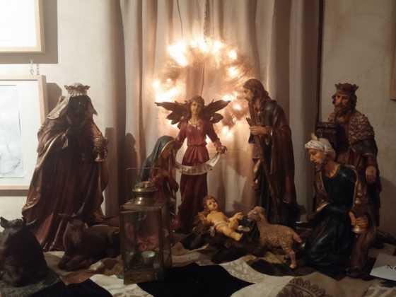 Exposicion de Navidad Decoracion de Interiores de Herencia49 560x420 - Fotogalería de la exposición de decoración Bodegones de Navidad