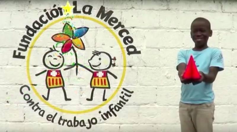 Felicitacion navidad fundacion La Merced Ninos Limpiabotas