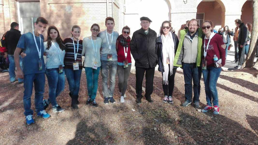 Jóvenes de Herencia participaron el la XVI Marcha de Adviento 1