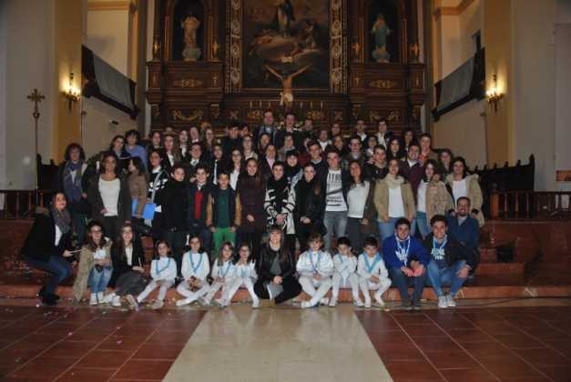 Jovenes participantes en la Vigilia de la Inmaculada Foto de Jose MAria Sanchez Aguilera 627x420 - Fotografías y vídeos de las fiestas de la Inmaculada Concepción