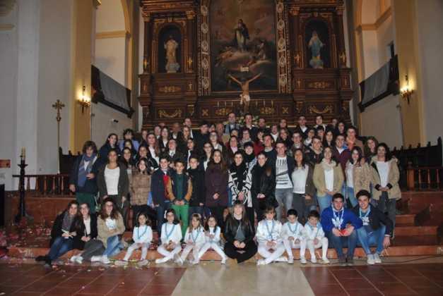 Jovenes participantes en la Vigilia de la Inmaculada Foto de Jose MAria Sanchez Aguilera1 627x420 - Fotografías y vídeos de las fiestas de la Inmaculada Concepción