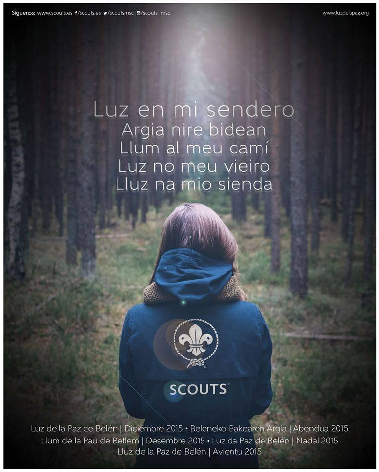 Luz de Belen scout herencia - La luz de la paz de Belén llegará a Herencia de mano de los scout