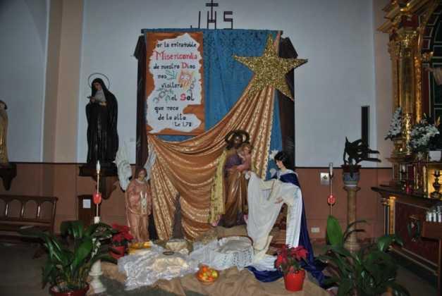 Nacimiento convento de La Merced foto de Jose Maria Sanchez Aguilera 4 627x420 - Muestra de belenes populares de Herencia. Fotogalería