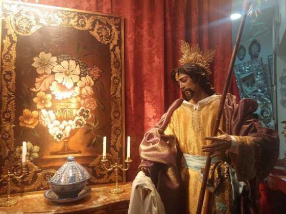 Nacimiento de Floristeria Aragar04 560x420 - Muestra de belenes populares de Herencia. Fotogalería