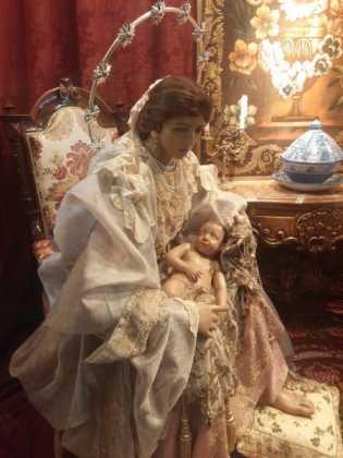 Nacimiento de Floristeria Aragar05 315x420 - Muestra de belenes populares de Herencia. Fotogalería