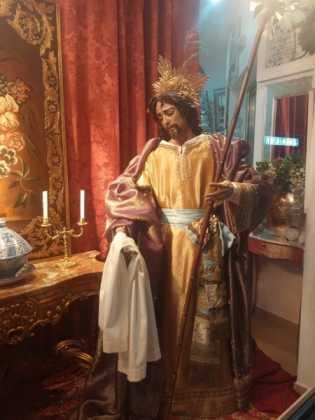 Nacimiento de Floristeria Aragar06 315x420 - Muestra de belenes populares de Herencia. Fotogalería