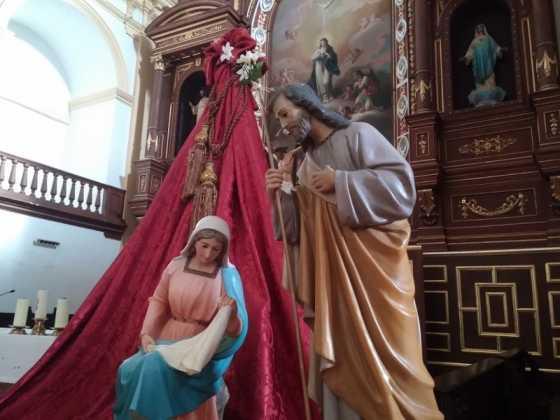 Nacimiento de la parroquia Inmaculada Concepcion02 560x420 - Muestra de belenes populares de Herencia. Fotogalería