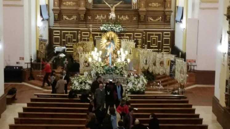 Primera Ofrenda Floral a la Inmaculada Concepcion1 fotografía de Manuel Martin Villar 747x420 - Fotografías y vídeos de las fiestas de la Inmaculada Concepción