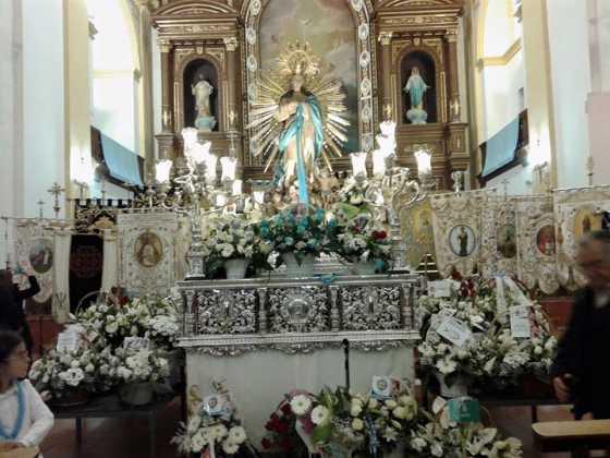 Primera Ofrenda Floral a la Inmaculada Concepcion3 fotografía de Manuel Martin Villar 560x420 - Fotografías y vídeos de las fiestas de la Inmaculada Concepción
