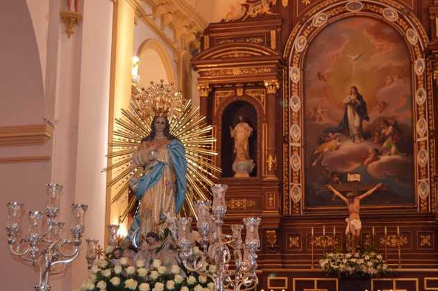 Procesion de la Inmaculada Concepción de Herencia1 fotografia de Carmen Ramos 631x420 - Fotografías y vídeos de las fiestas de la Inmaculada Concepción