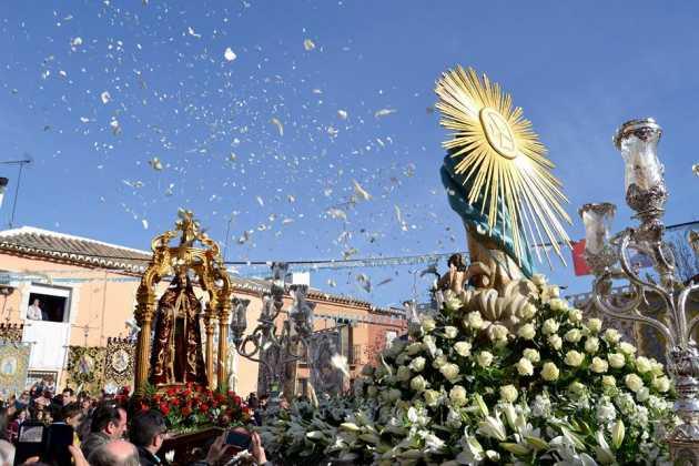 Procesion de la Inmaculada Concepción de Herencia6 fotografia de Carmen Ramos 630x420 - Fotografías y vídeos de las fiestas de la Inmaculada Concepción