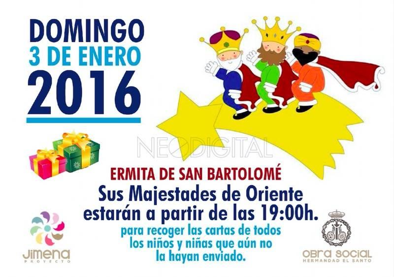 Visita de los Reyes Magos a la ermita de San Bartolome de Herencia - Campaña de recogida de juguetes y visita de los Reyes Magos en la ermita de San Bartolomé