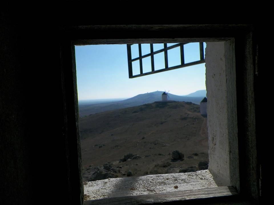 Vista desde los molinos de la sierra de la Horca de Herencia  foto de Antonio Carmona Marquez - Herencia desde su Rendija