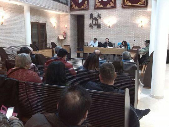 Asamblea de seguimiento de a gestion municipal en Herencia1