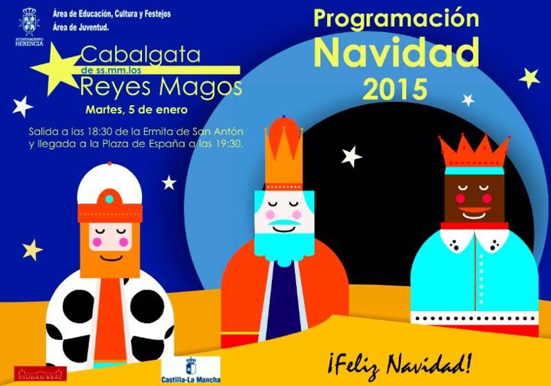 Cabalgata de Reyes Magos en Herencia - Cabalgata de los Reyes Magos en Herencia