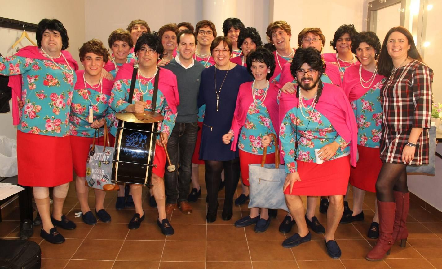 Carmen Olmedo Carnaval de Herencia Pelendengues 1 - Entre Ansiosos, Deseosas y Pelendengues, Herencia se vistió de Carnaval en el último fin de semana de enero