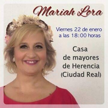 Concierto de Mariah Lora en Herencia