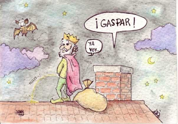 Gaspar 603x420 - Postales navideñas de Jesús Cobos Abengoza