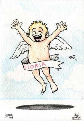 Gloria 292x420 - Postales navideñas de Jesús Cobos Abengoza