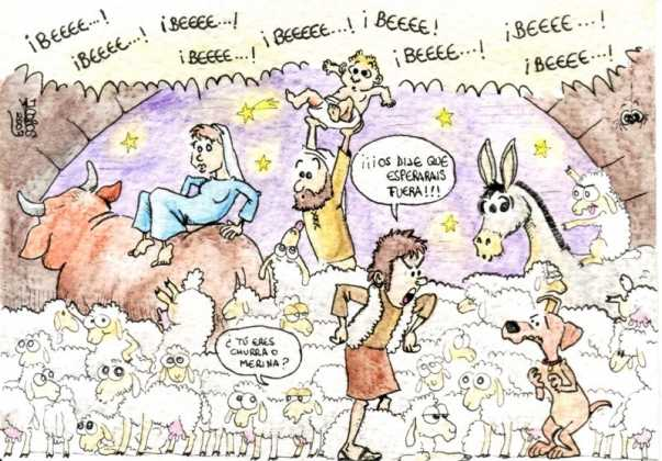 Invasión 603x420 - Postales navideñas de Jesús Cobos Abengoza