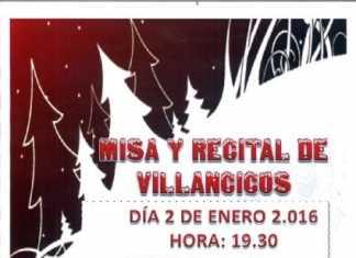 Recital Villancicos en Herencia de la Agrupacion Coral Maestro Ibañez de Valdepeñas