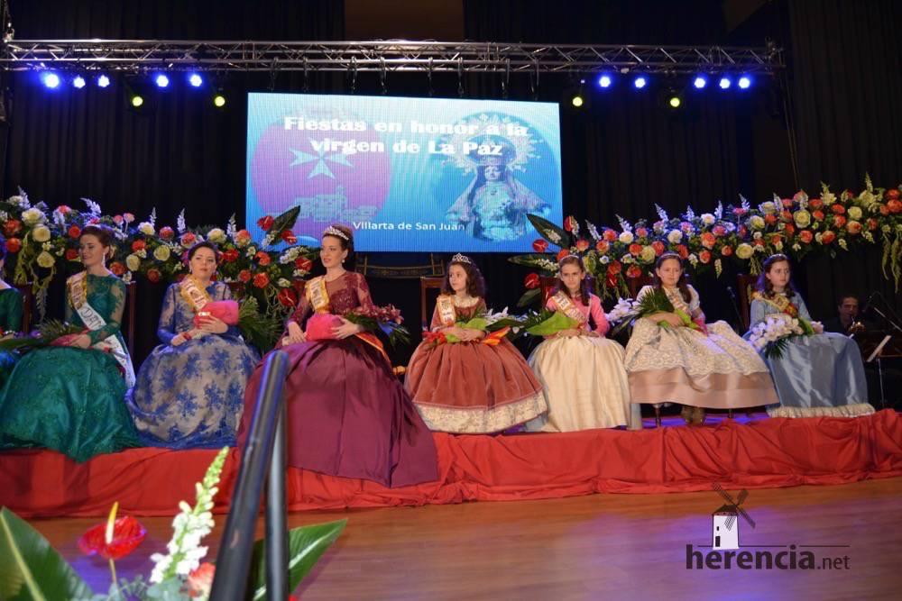 Villarta de san juan reina y damas - La pregonera de las Paces de Villarta pidió a los jóvenes que se diviertan y mantengan las costumbres