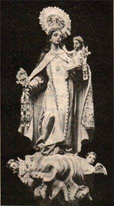 Virgen de las Mercedes. Antigua