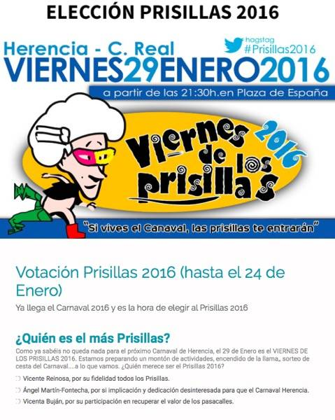 Votacion popular prisillas 2016