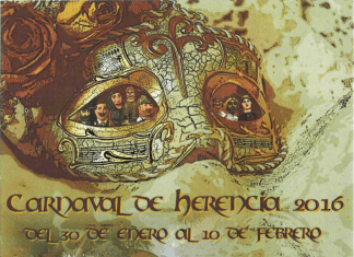 Cartel de Carnaval de Herencia 2016