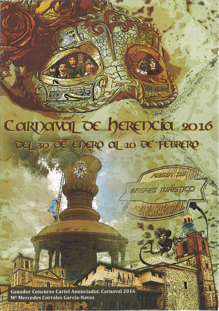 cartel de carnaval de herencia 2016 - Ya puedes participar en la creación del Cartel del Carnaval de Herencia 2017