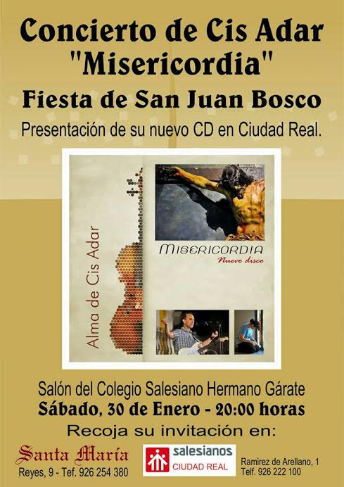 concierto Cis Adar en Ciudad Real