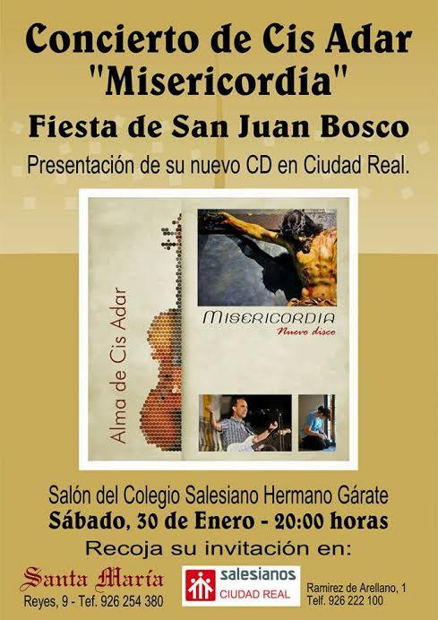 Concierto de Cis Adar en Ciudad Real 1