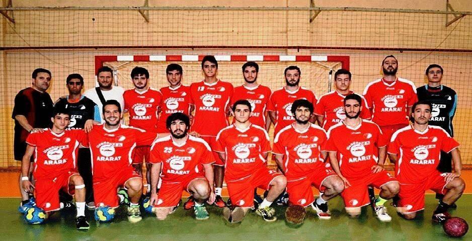 equipo balonmano - Balonmano: Buen partido sin recompensa (15ª jornada. 2ª División - 1ª Territorial)