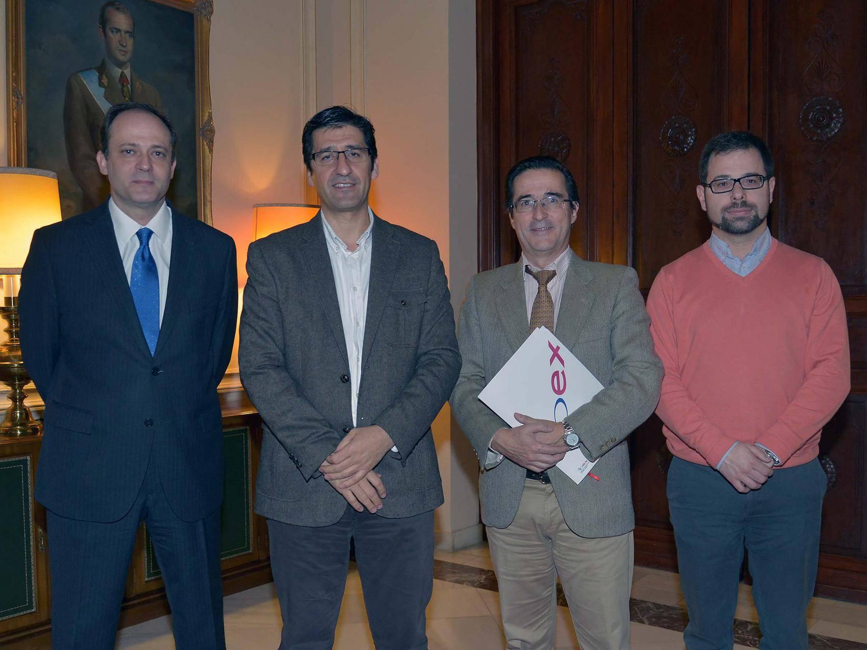 firma para acoger feria imex - Ciudad Real acogerá la Feria Internacional y Comercio Exterior IMEX