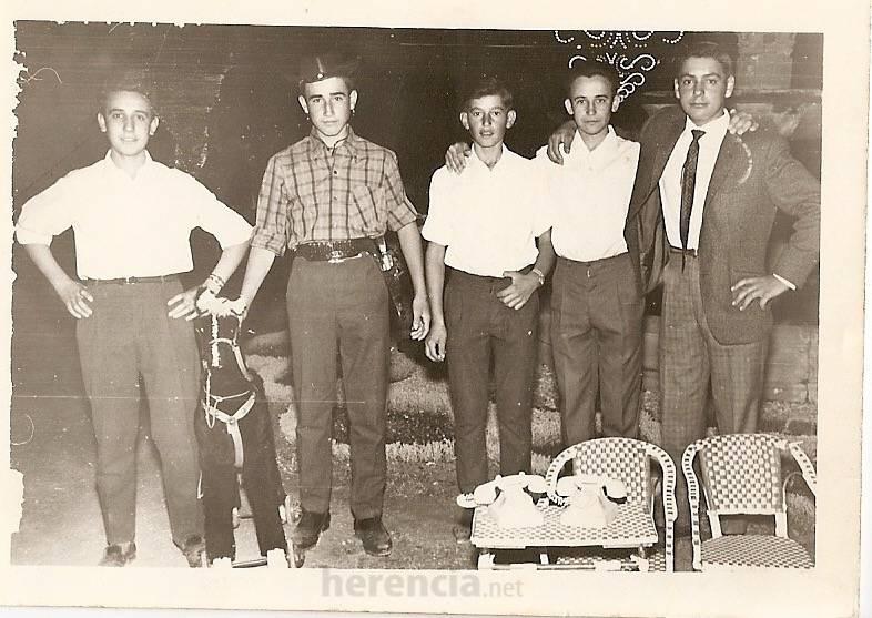 herencia feria 1966 - Fotografías antiguas de Herencia: Feria y Fiestas años 60 y 70