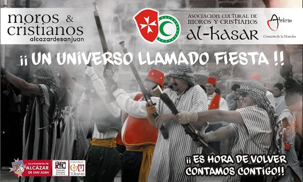 La Asociación de Moros y Cristianos promocionará estas fiestas alcazareñas en FITUR 2016 1