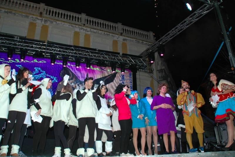 peña Harúspices dando las campanadas del año herenciano 2016