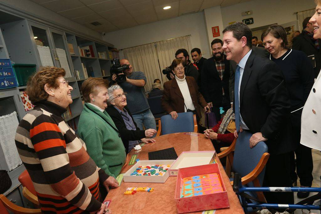residencias de mayores en castilla la mancha - Más de mil mayores atendidos desde julio de 2015 en Castilla-La Mancha