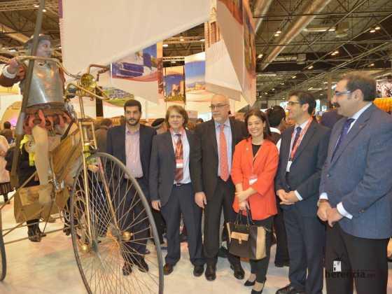 Todos juntos trabajando por el turismo de nuestra región en FITUR 2